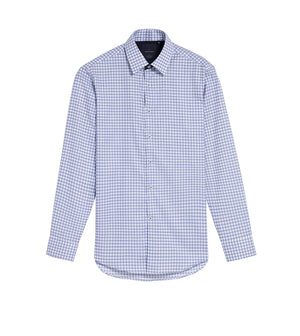 Load image into Gallery viewer, Yasai Easy Iron Check Shirt Folded Full