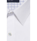 Takahashi Easy Iron White Shirt Collar