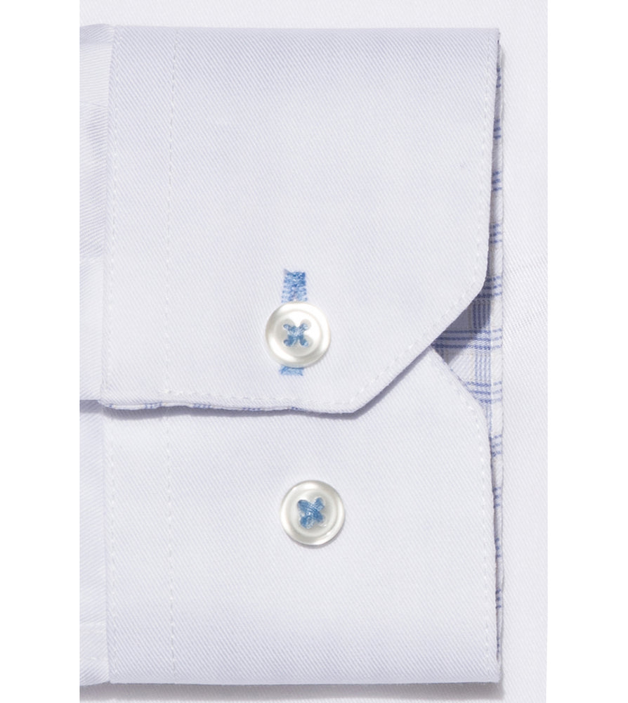 Load image into Gallery viewer, Takahashi Easy Iron White Shirt Cuff