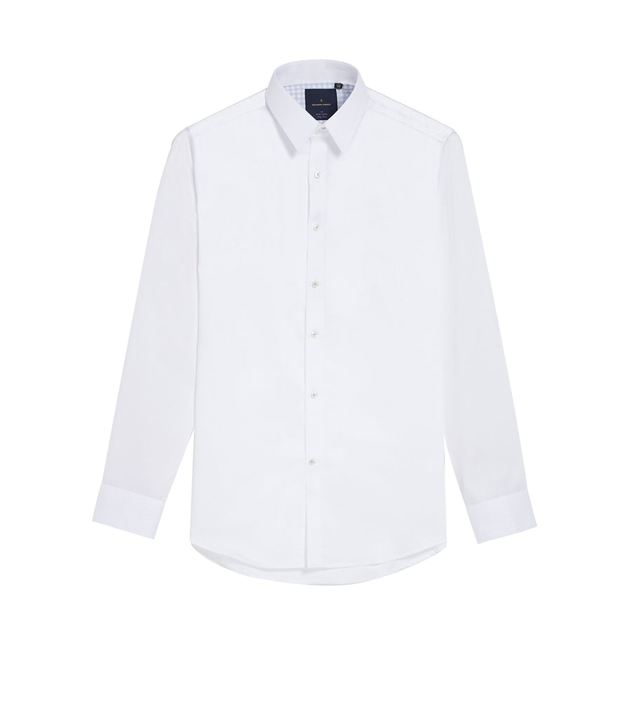 Load image into Gallery viewer, Takahashi Easy Iron White Shirt Full