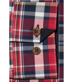 Load image into Gallery viewer, Kitakado Vintage Check Shirt Cuff