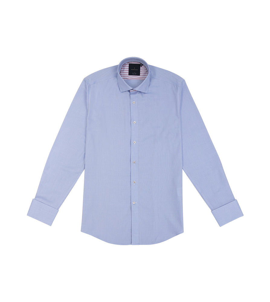 Load image into Gallery viewer, Takashikawa Textured Easy Iron Shirt Full