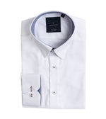 Kato Easy Iron French Twill Shirt - Folded