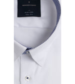 Kato Easy Iron French Twill Shirt - Collar