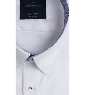 Load image into Gallery viewer, Kato Easy Iron French Twill Shirt - Collar