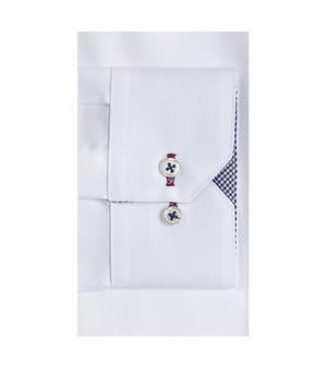 Load image into Gallery viewer, Kato Easy Iron French Twill Shirt - Cuff