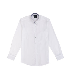 Load image into Gallery viewer, Kato Easy Iron French Twill Shirt - Full