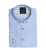 Futako Washed Oxford Shirt Folded