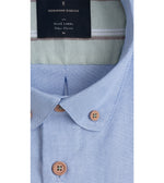 Futako Washed Oxford Shirt Collar
