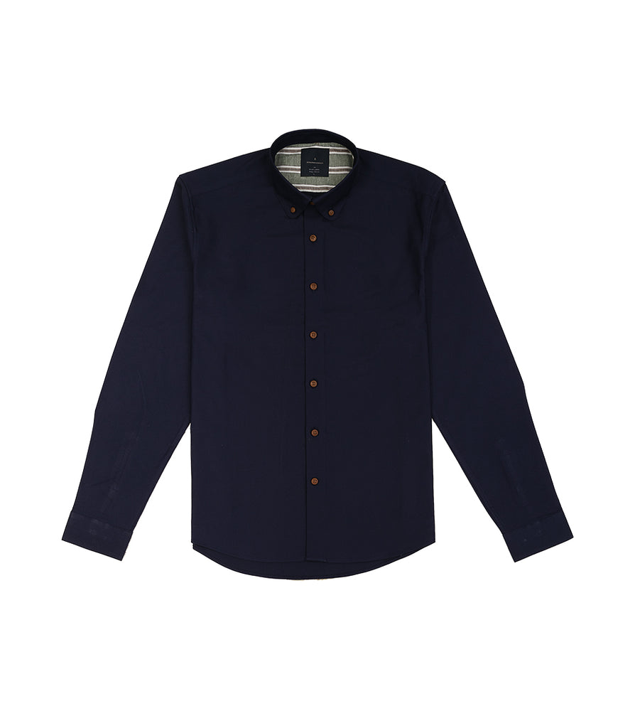 Load image into Gallery viewer, Yasai Washed Oxford Shirt - Full