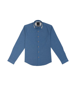 Load image into Gallery viewer, Maru Vintage Chambray Shirt Full