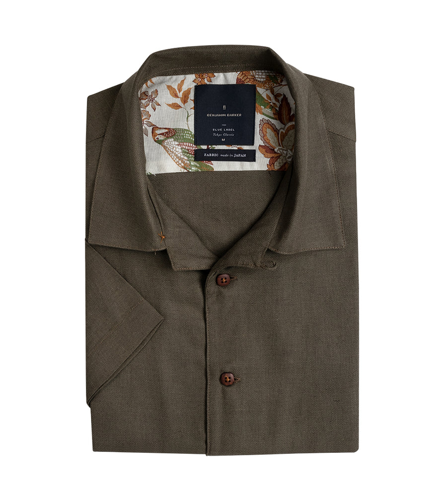 Imasaka Resort Camp Shirt Folded
