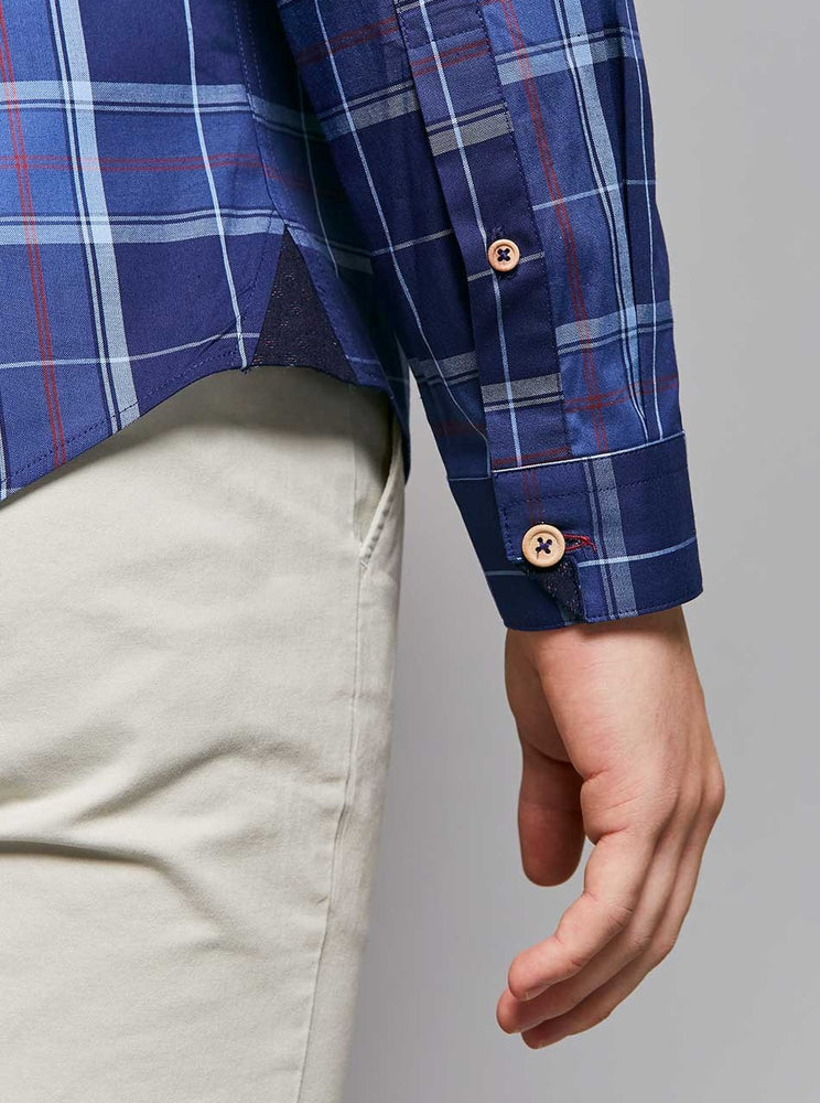 Load image into Gallery viewer, Kenji Washed Check Shirt