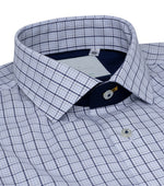 Herringham Easy Iron Check Shirt Collar