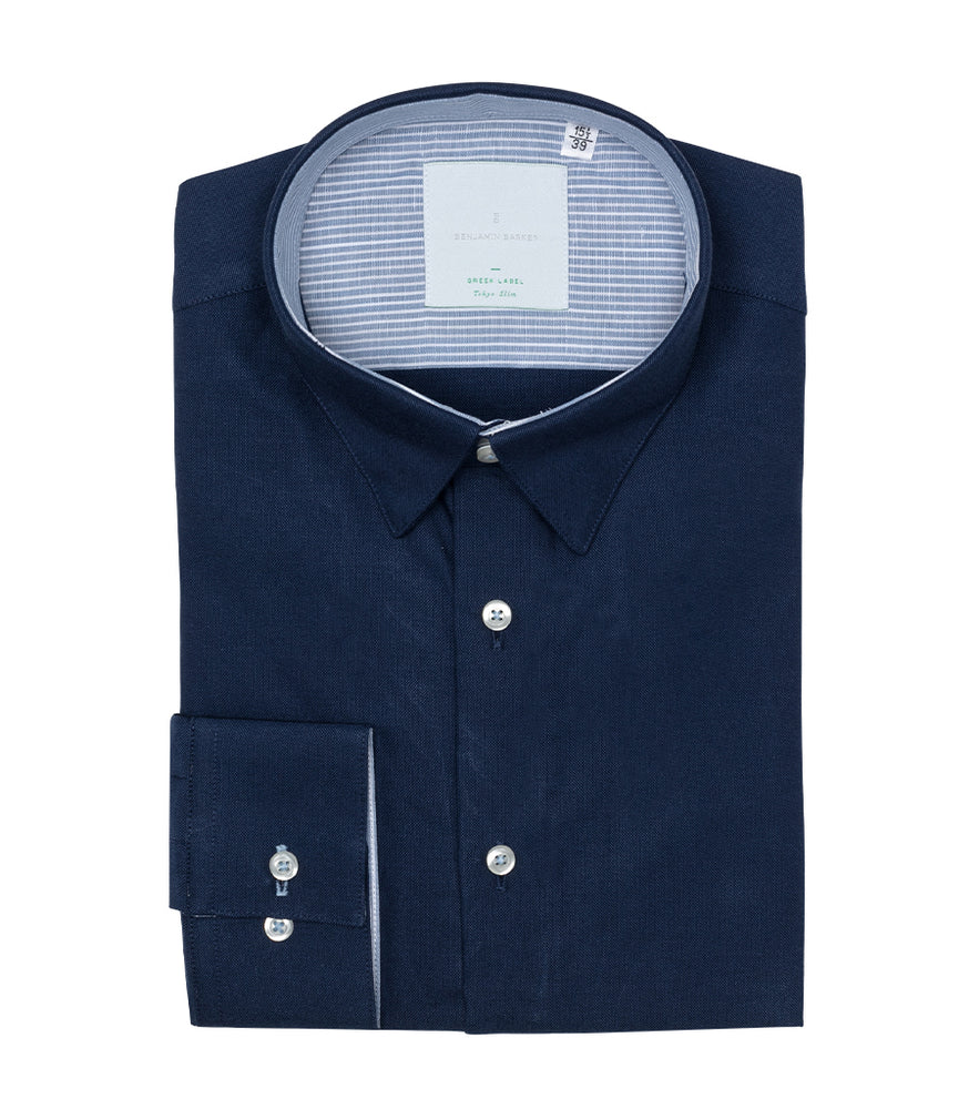 Roehampton Washed Oxford Shirt Folded
