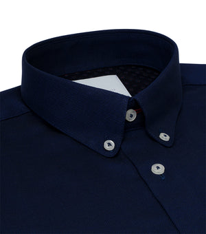 Load image into Gallery viewer, Lyndhurst Textured Birdeye Shirt Collar