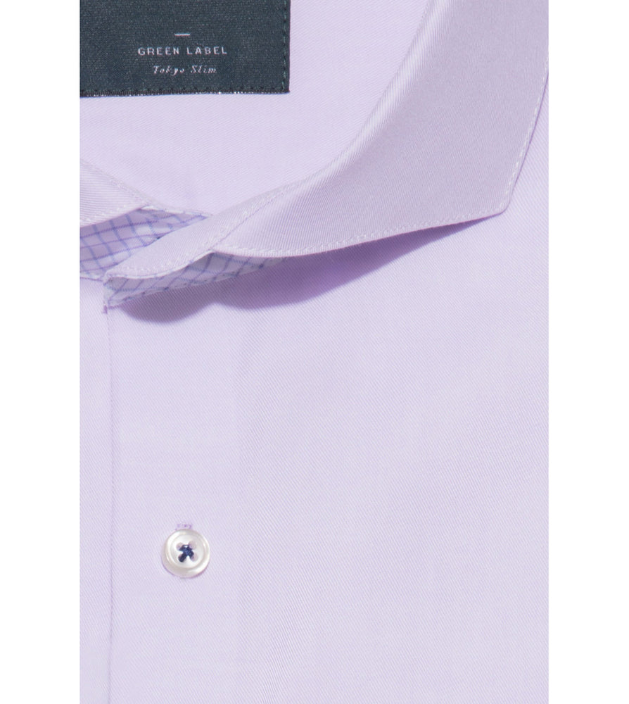 Koji Easy Iron Fine Twill Shirt Collar