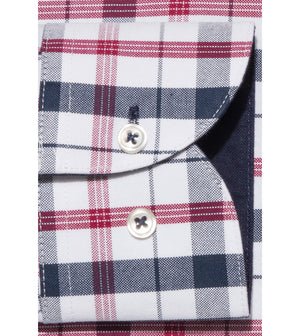 Load image into Gallery viewer, Takaji Vintage Oxford Plaid Shirt Cuff