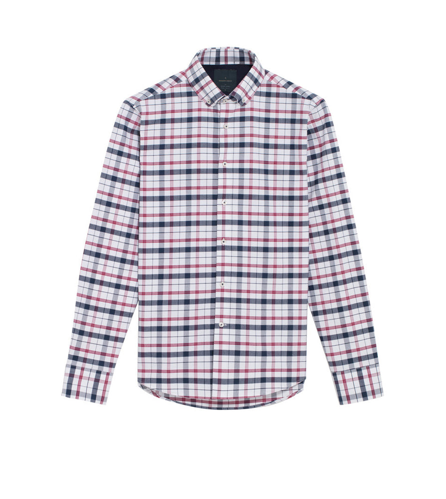 Load image into Gallery viewer, Takaji Vintage Oxford Plaid Shirt Full