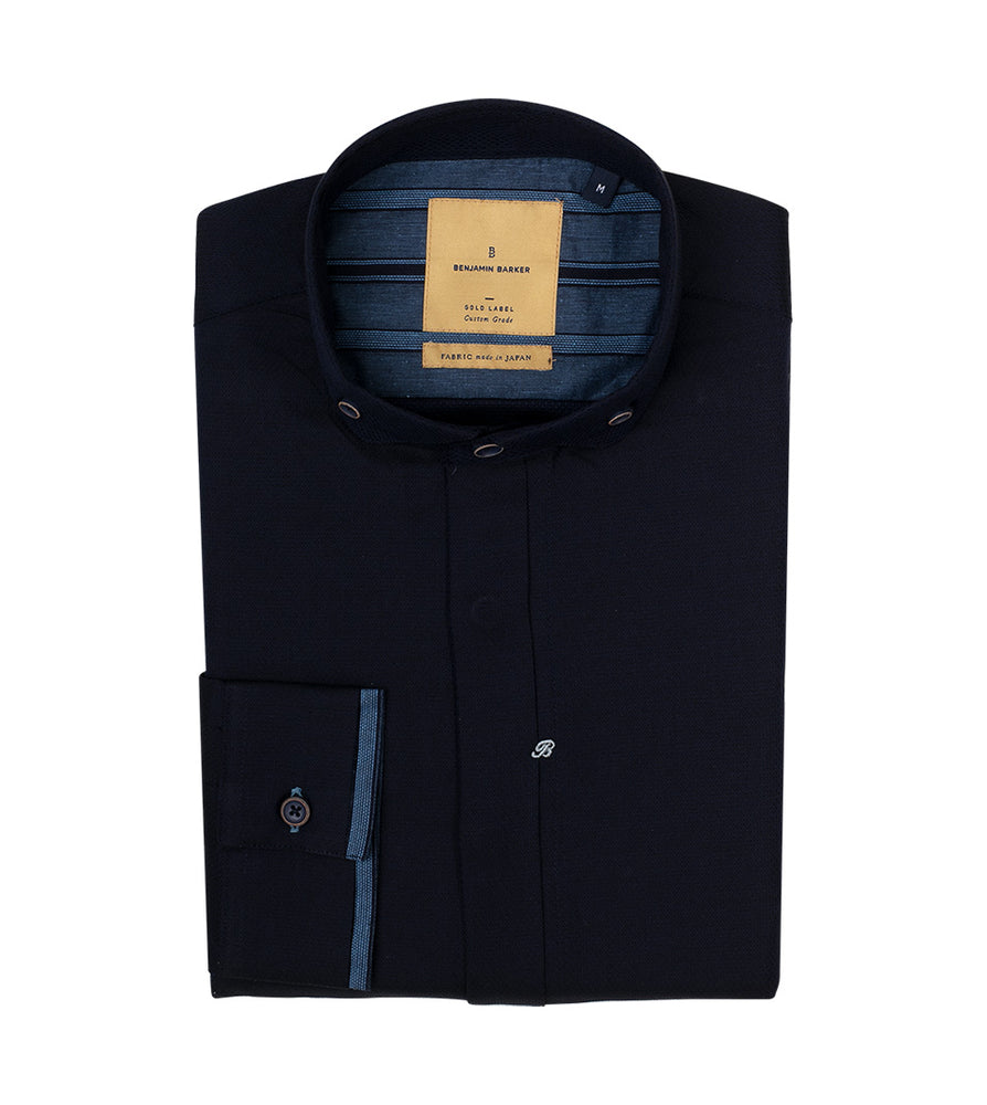 Camberwell Textured Shirt Folded