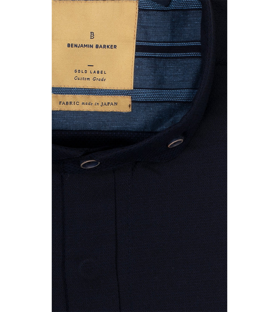 Camberwell Textured Shirt Collar