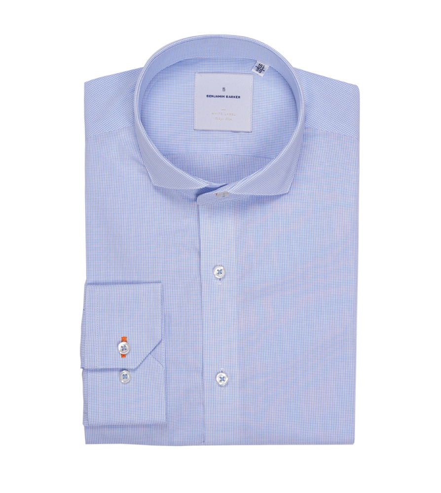 Westbridge Graph Check Shirt Folded