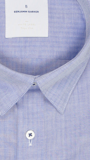 Load image into Gallery viewer, Barnabas Blue Chevron Shirt Collar