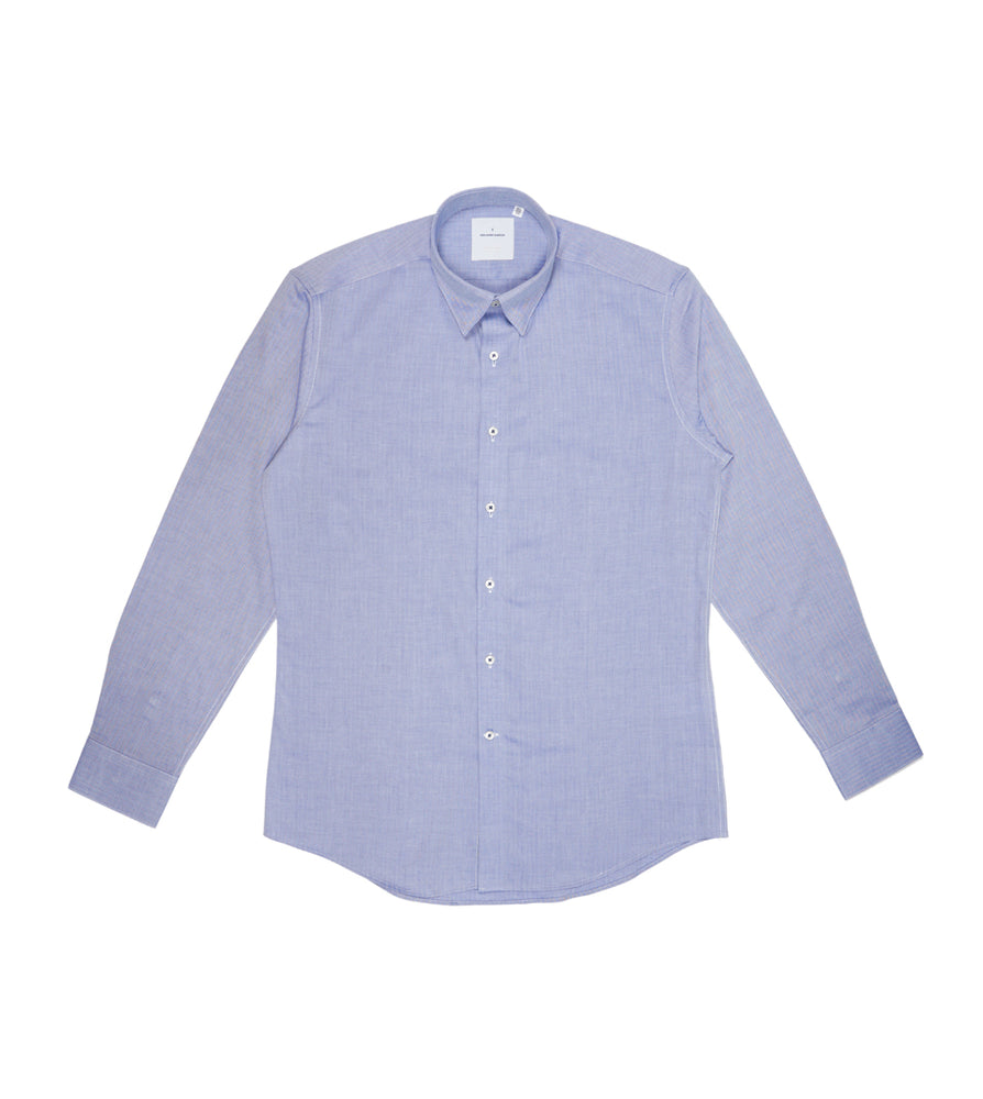 Load image into Gallery viewer, Barnabas Blue Chevron Shirt Full