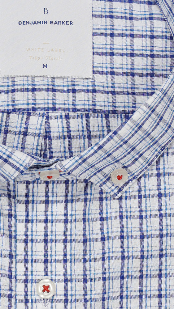 Jenkins St Plaid Collar
