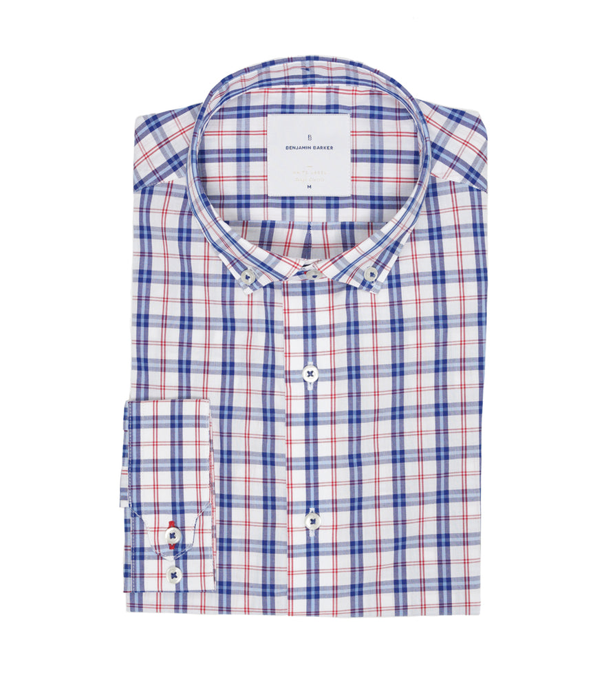 Load image into Gallery viewer, Garratt Lane Plaid Shirt Folded