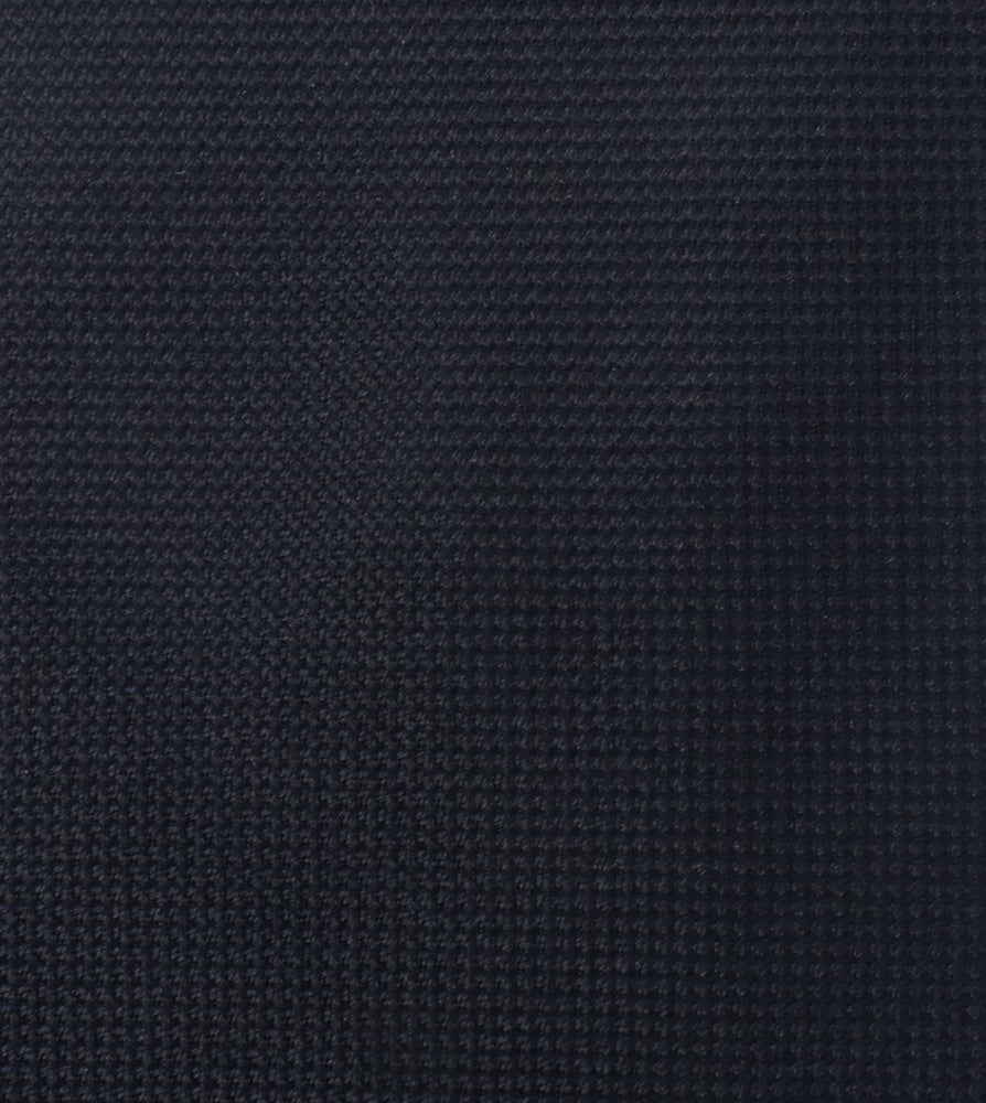 Oxford Tie Navy Oxford Weave Fabric