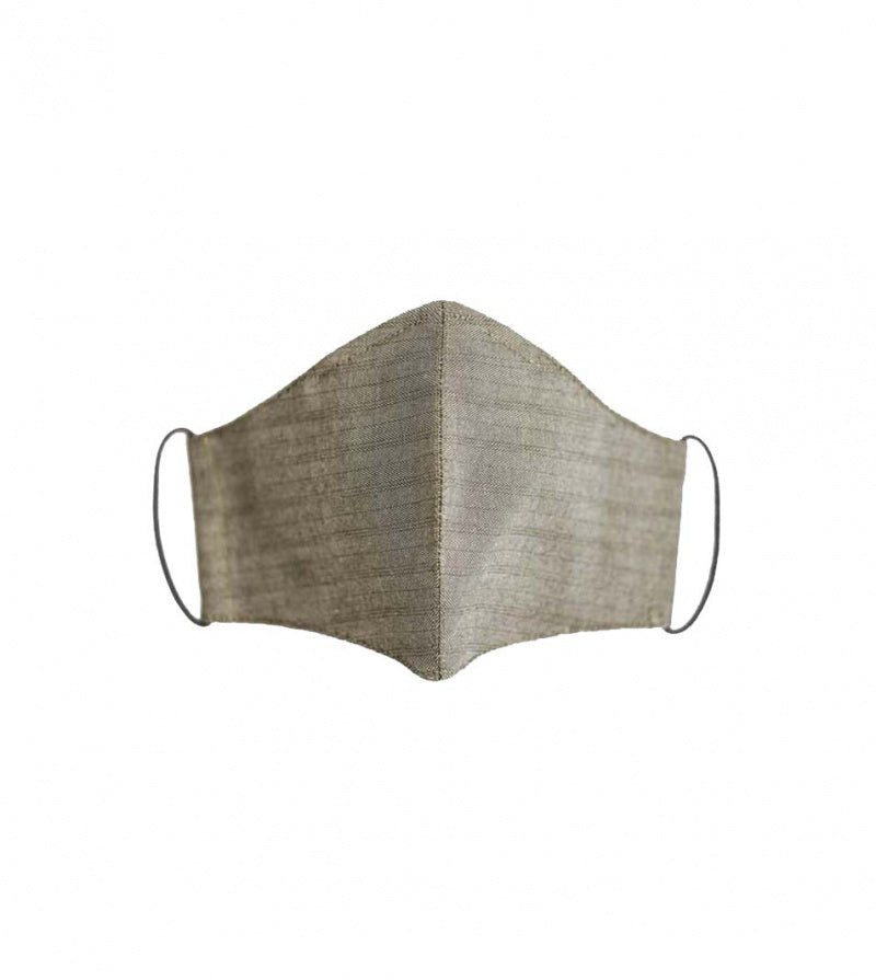 Sahara Cotton Herringbone Face Masks Full