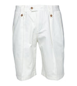 Bermondsy Vintage Military Shorts In Off White Full