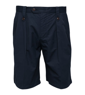Load image into Gallery viewer, Bermondsy Vintage Military Shorts In Navy Full