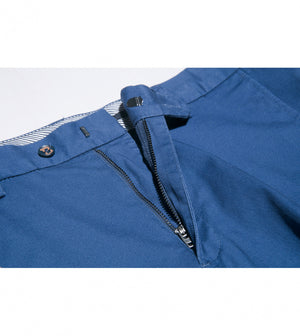 Load image into Gallery viewer, Masuda Washed Chino In Cerulean Zip