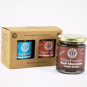 Handcrafted Belgian Chocolate Fudge Spreads/Sauces.....Dive right in!