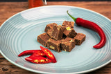 Dark Chocolate Fiery Ginger and Chilli Fudge