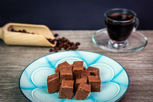 Dark Chocolate Mocha Fudge
