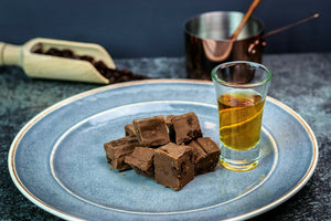 Milk Chocolate Rum and Raisin Fudge