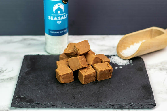 Pembrokeshire Sea Salted Caramel Fudge