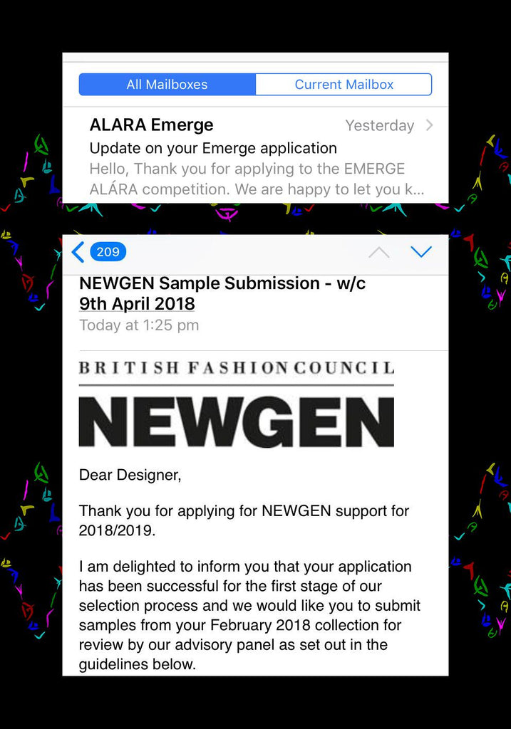 Yemzi is a NEWGEN SS19 and ALARA Emerge Finalist