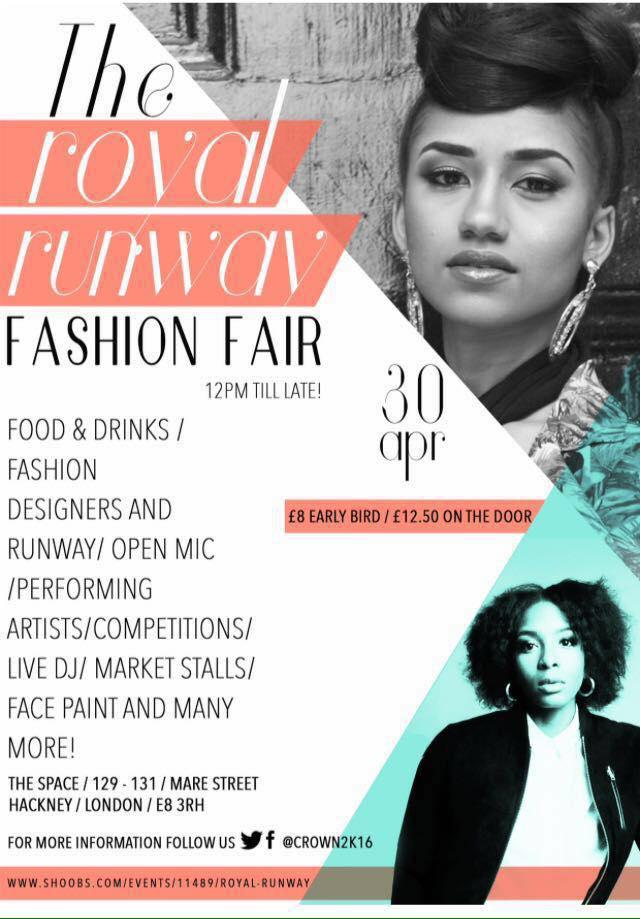 Royal Runway Fashion Fair x Yemzi