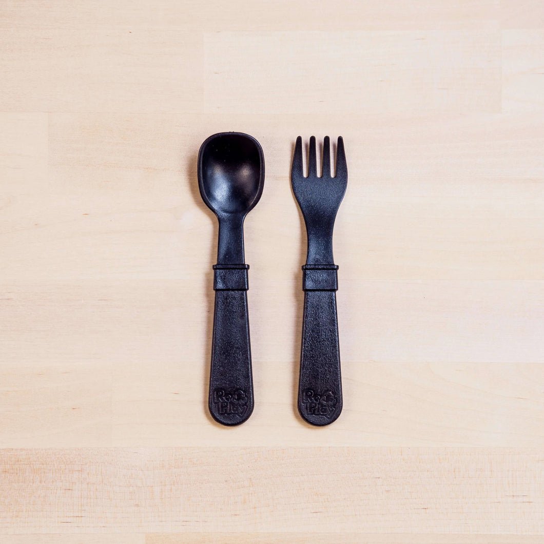Fork & Spoon - Black - Re-Play