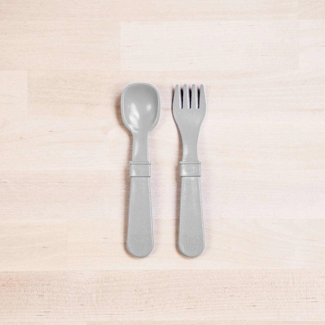 Fork & Spoon - Grey - Re-Play
