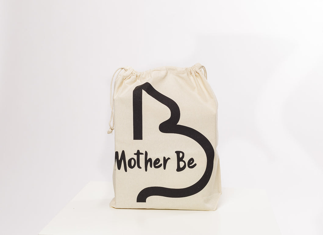 Mother Be Drawstring Bag