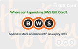 BWS Egift (Digital) Card