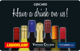 CM Liquor Plastic Card (Redeemable at Liquorland, First Choice Liquor and Vintage Cellars)