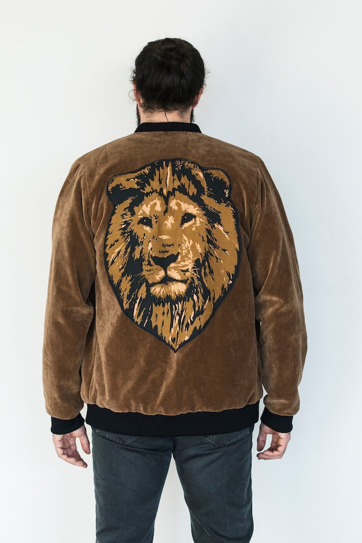 DFD Welcome To The Jungle Bomber Jacket