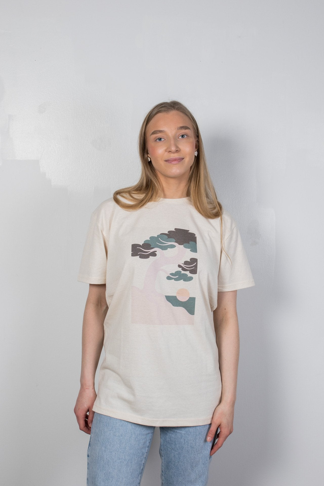 Pine Tree T-Shirt - Faded