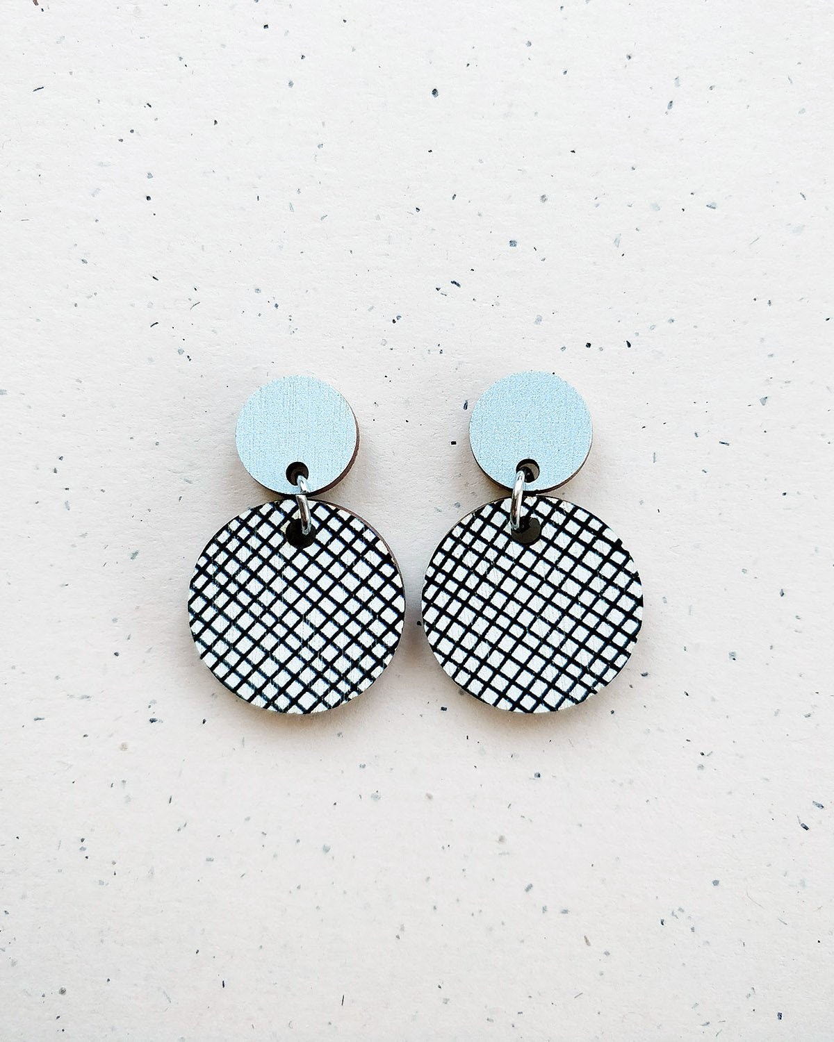 Hento Earrings Light Blue